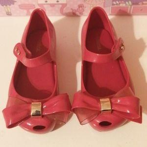 Mini Melissa Girl's Shoes - size 10